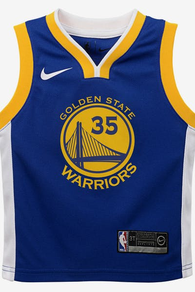 5a9ee73764ef Nike Toddler Golden State Warriors Kevin Durant  35 Icon Replica NBA Jersey  Royal