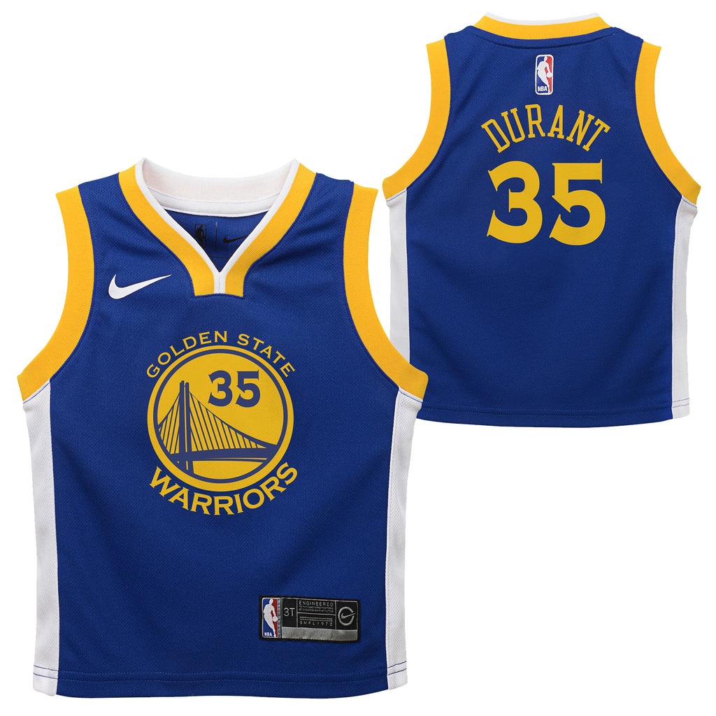 c994c5dcfb2d ... sale nike toddler golden state warriors kevin durant 35 icon replica  nba jersey royal b1d00 e7dd0