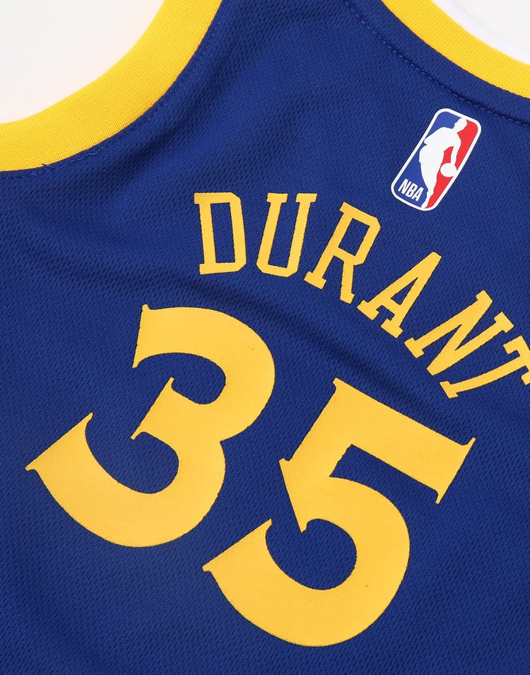 cheaper 02ecb ab7b4 Nike Toddler Golden State Warriors Kevin Durant #35 Icon Replica NBA Jersey  Royal