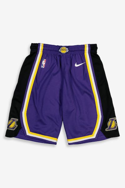Nike Kids Los Angeles Lakers Statement Swingman Short Purple
