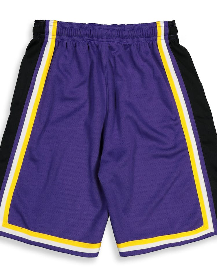 6b84fc07 Nike Kids Los Angeles Lakers Statement Swingman Short Purple