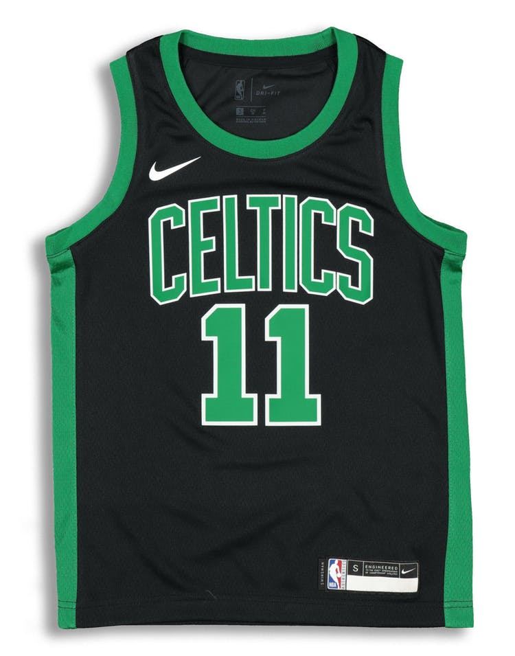 pretty nice 39bad c70a2 Nike Kids Boston Celtics Kyrie Irving #11 Icon Swingman NBA Jersey Black