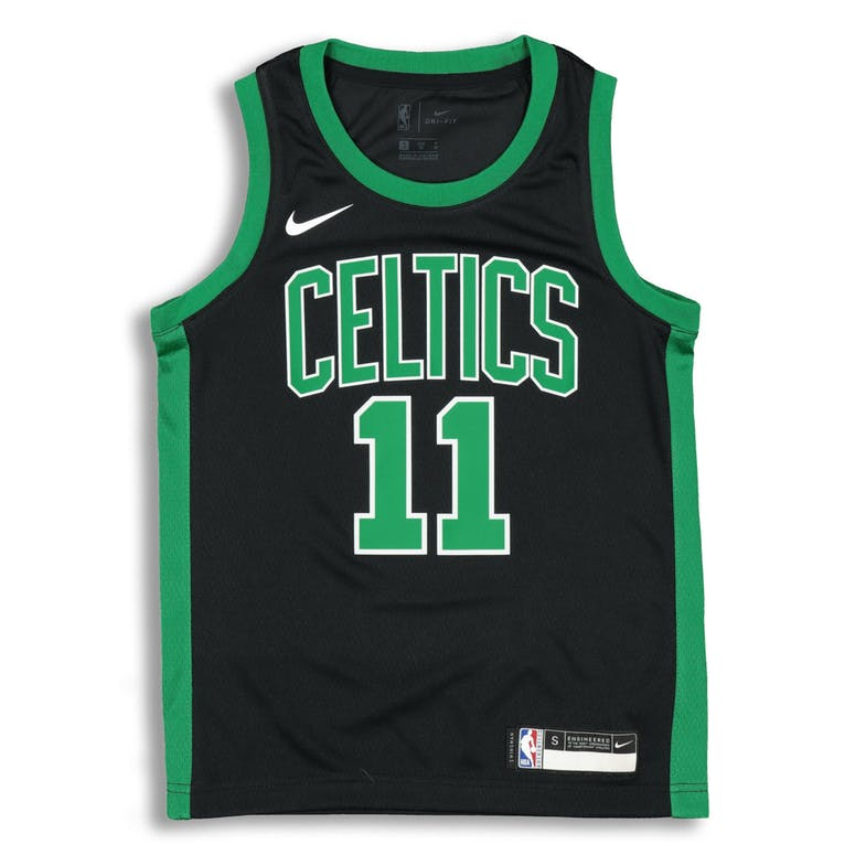 pretty nice 14047 e7515 Nike Kids Boston Celtics Kyrie Irving #11 Icon Swingman NBA Jersey Black