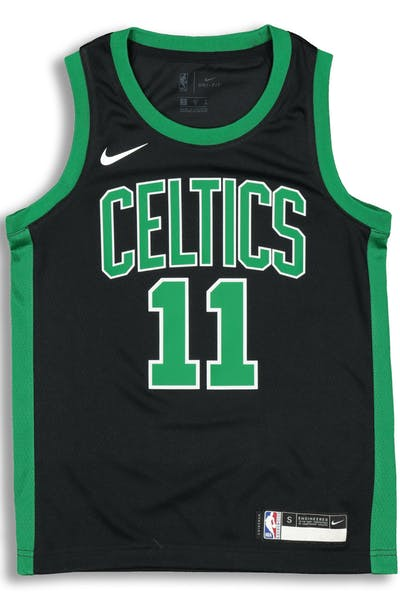 26783e9ad4d Nike Kids Boston Celtics Kyrie Irving  11 Icon Swingman NBA Jersey Black