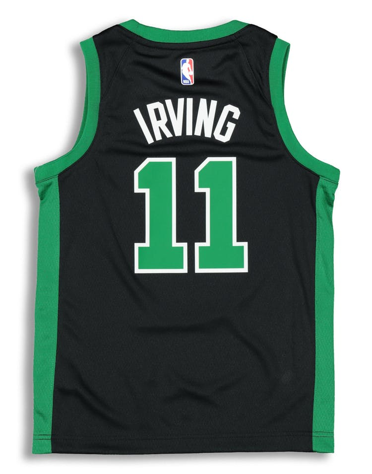 dc8e4b9c3 Nike Kids Boston Celtics Kyrie Irving  11 Icon Swingman NBA Jersey Black