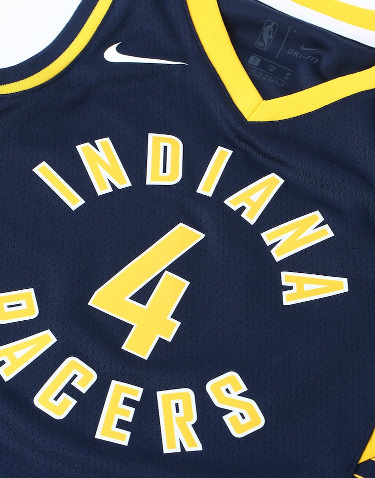 a9c395d9978 Nike Kids Indiana Pacers Victor Oladipo  4 Icon NBA Swingman Jersey Navy