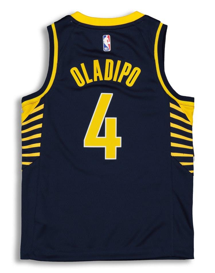 9616cd2e Nike Kids Indiana Pacers Victor Oladipo #4 Icon NBA Swingman Jersey Navy
