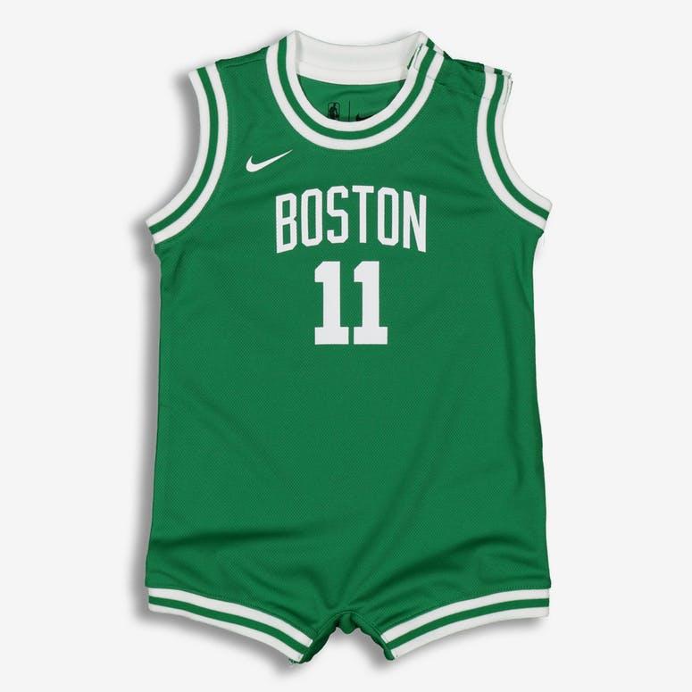 c69e8656a5d Nike Infant Boston Celtics Kyrie Irving  11 Replica Onesie NBA Jersey –  Culture Kings
