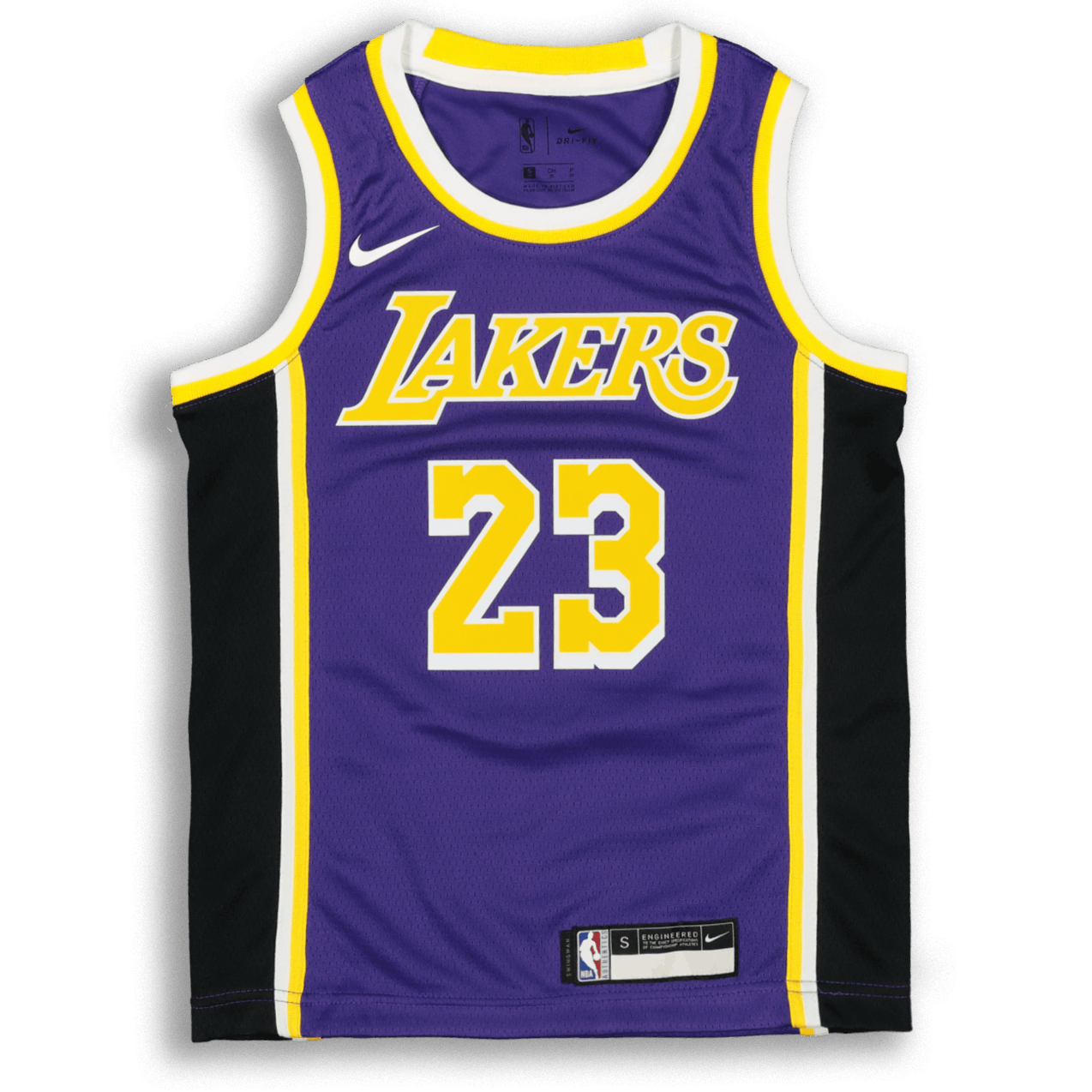 Nike Kids Los Angeles Lakers Lebron James 23 Statement Swingman Nba Jersey Purple Culture Kings