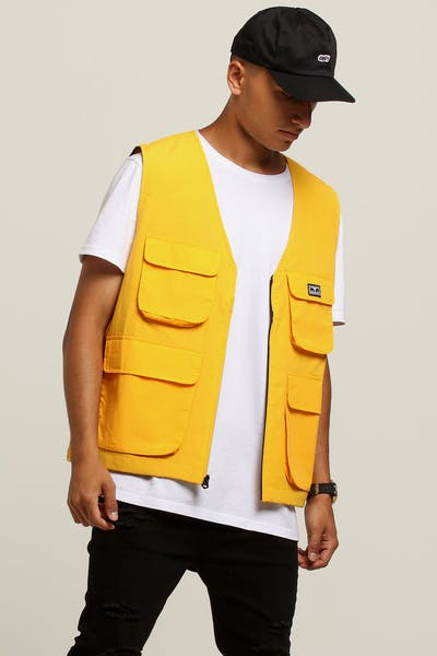 OBEY Ceremony Technical Vest Yellow