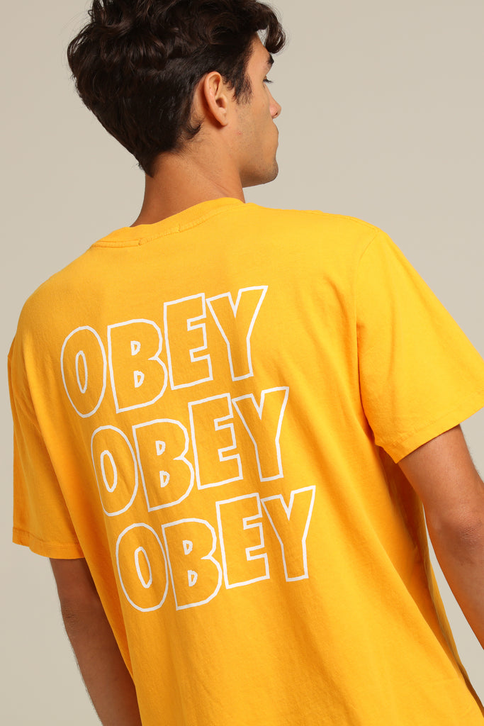 Baked Jumble Dusty Fi Tee Lo Yellow Obey Pigment QBsrdthCx