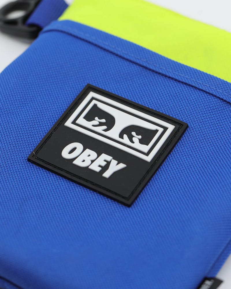 OBEY Conditions Side Pouch III Blue/Multi