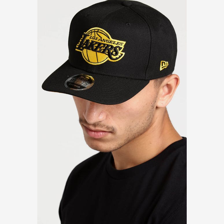 4b7dcc71749 New Era Los Angeles Lakers 9FIFTY HC Snapback Black Gold – Culture Kings
