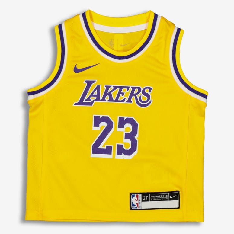 Nike Toddler Los Angeles Lakers LeBron James  23 Replica Jersey Icon E –  Culture Kings 594d6577f