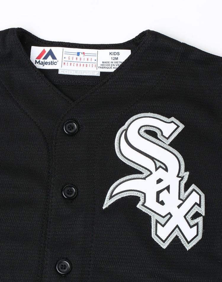 9820edd5f Majestic Athletic Infant Chicago White Sox Replica Jersey Black ...