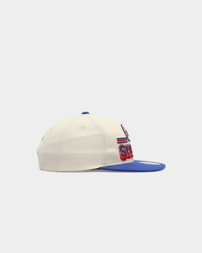 Mitchell & Ness Philadelphia 76ers Fan Banner NBA Snapback White/Royal/OTC