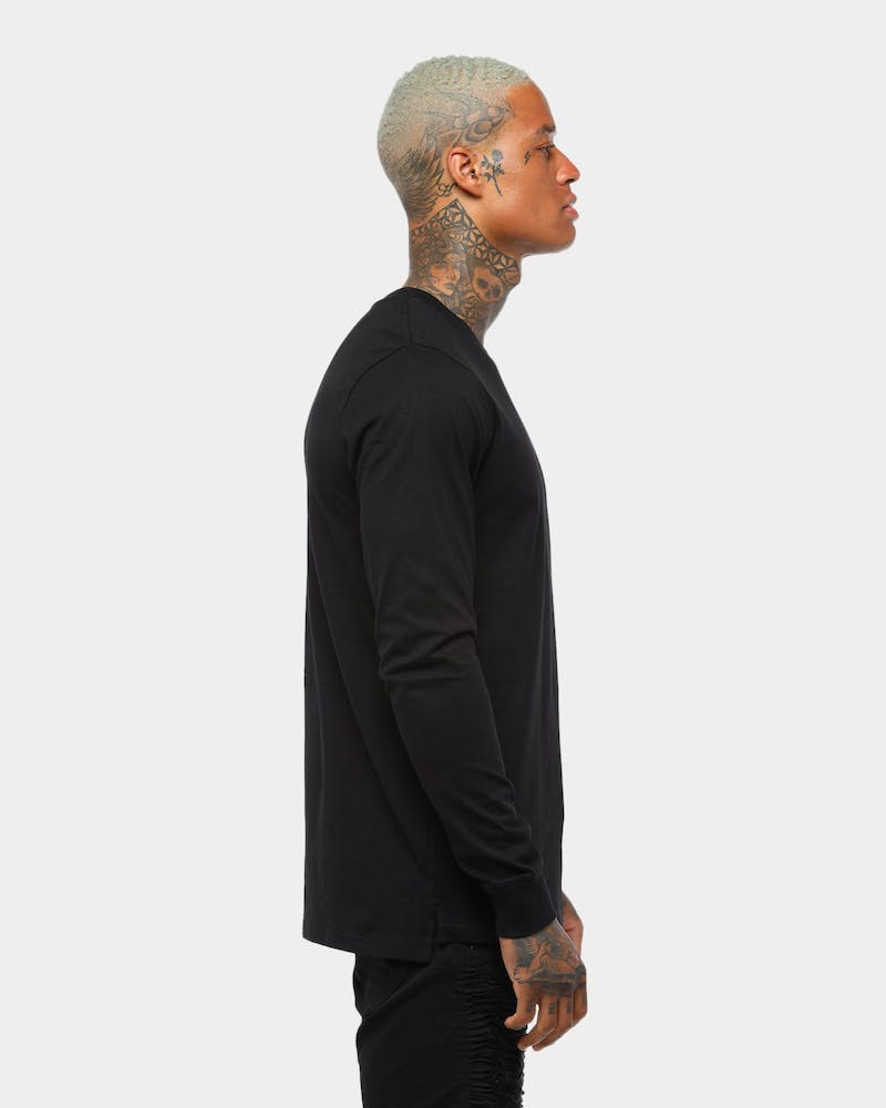 AS Base Long Sleeve Black