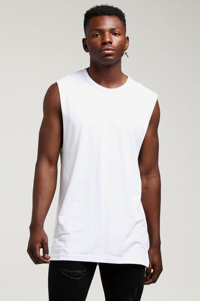 Well Made Arnold Muscle Tee White