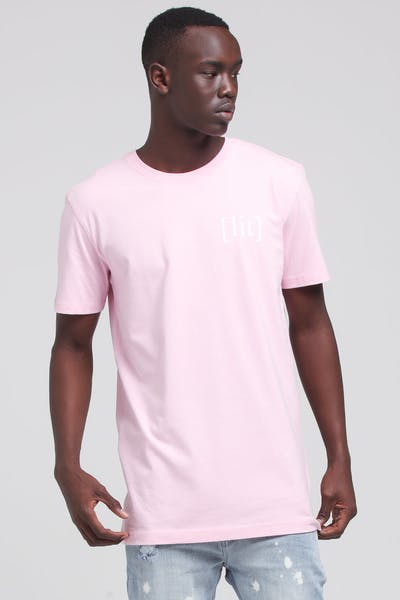 Goat Crew Its Lit Tee Pink