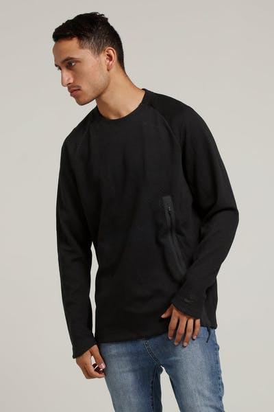 Nike Sportswear Tech Fleece Crew Black/Black