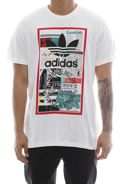 Adidas Originals Editorial Tee White