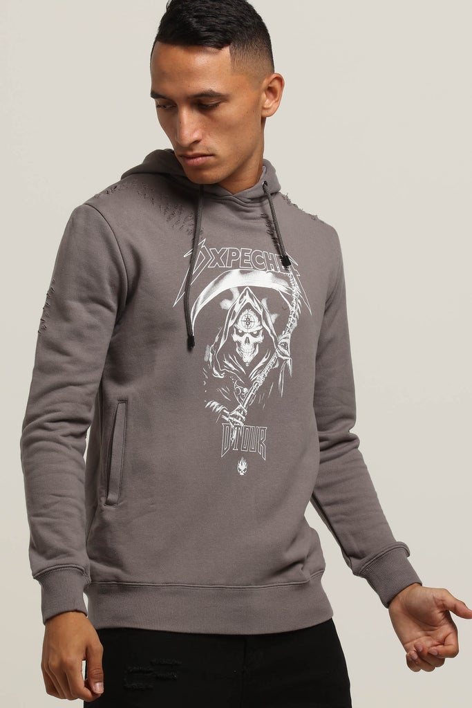 Hood Chef Distressed Charcoal Dxpe Gothic Tour eWCrBdox