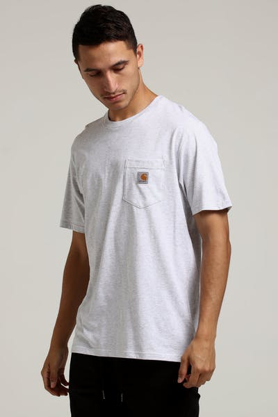 Carhartt Pocket S/S Tee Grey
