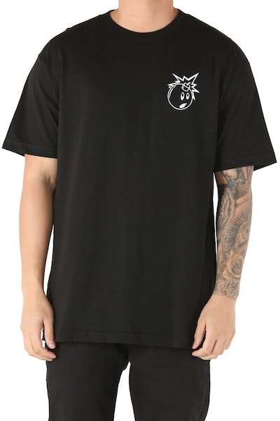 The Hundreds Forever Simple Adam Tee Black