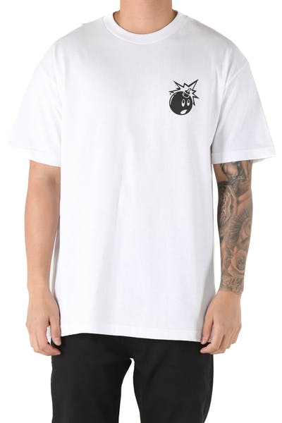 c3a94231 The Hundreds Forever Simple Adam Tee White