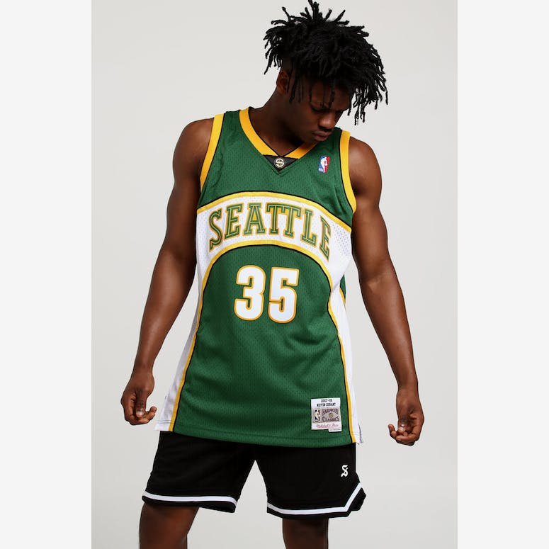 Mitchell   Ness Seattle Supersonics Kevin Durant  35 Swingman Jersey G –  Culture Kings 6cf9ccdcf