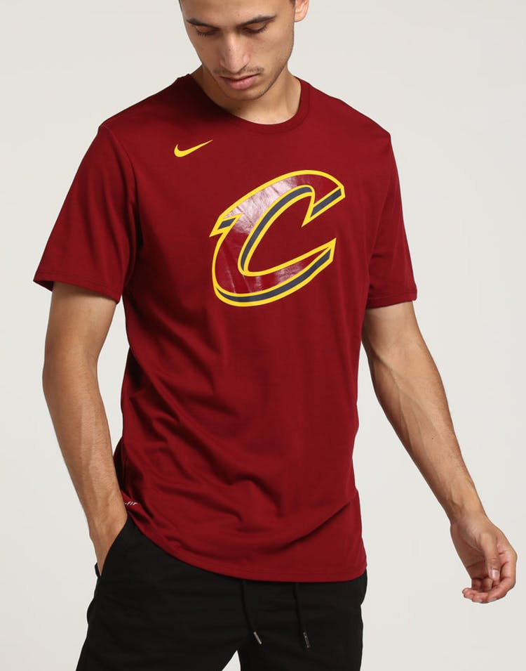 official photos 68e4b 88b63 Cleveland Cavaliers Nike Dry Logo Tee Red