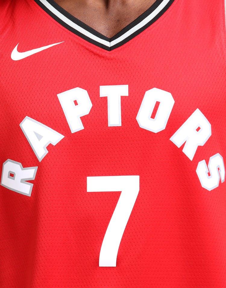 8597942f1 Kyle Lowry  2 Toronto Raptors Nike Icon Edition Swingman Jersey Red Black
