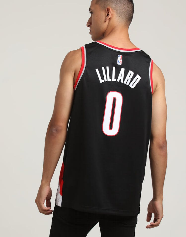 c6d05d51f6a Damian Lillard  0 Portland Trailblazers Nike Icon Edition Swingman Jer –  Culture Kings
