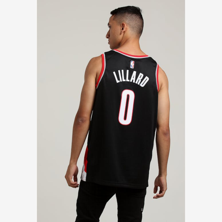 Damian Lillard  0 Portland Trailblazers Nike Icon Edition Swingman Jer –  Culture Kings 9ec80c25af3