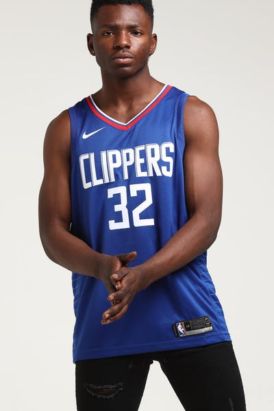 a702b098f9e Blake Griffin #32 Los Angeles Clippers Nike Icon Edition Swingman Jersey  Blue/White/