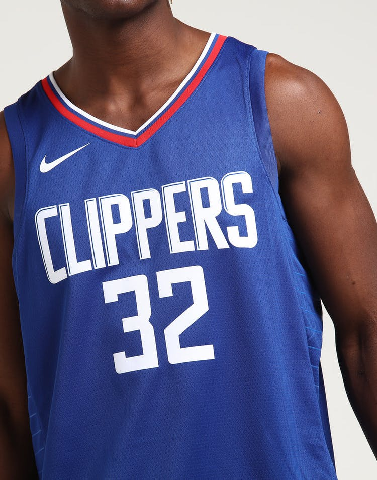 f32cc0791 Blake Griffin  32 Los Angeles Clippers Nike Icon Edition Swingman Jersey  Blue White