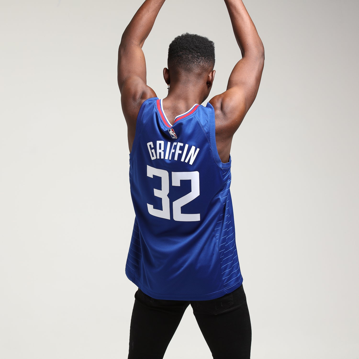 Blake Griffin #32 Los Angeles Clippers Nike Icon Edition Swingman Jersey BlueWhiteRed
