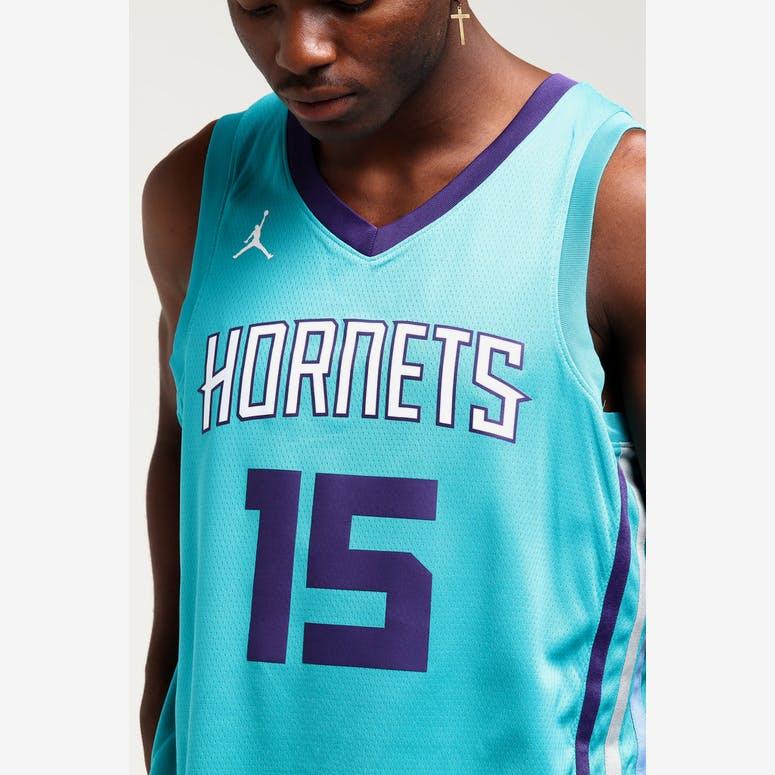 Kemba Walker  15 Charlotte Hornets Nike Icon Edition Swingman Jersey B –  Culture Kings ef3263174