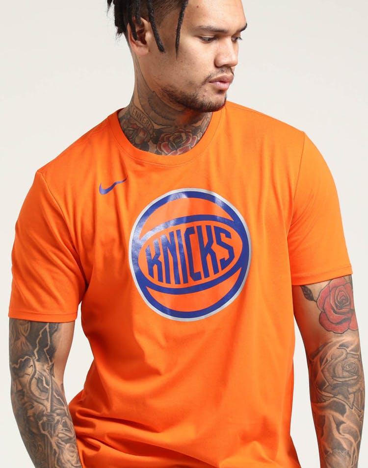 6c94e34c New York Knicks Nike Dry Logo Tee Orange – Culture Kings