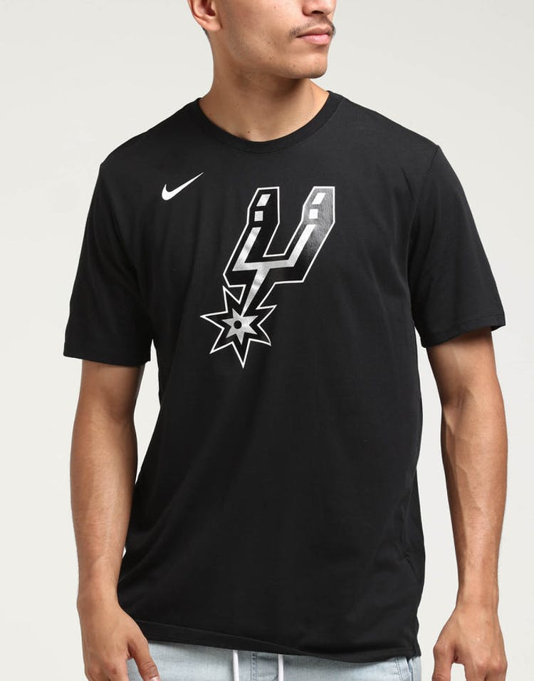 8f8696634e34e San Antonio Spurs Nike Dry Logo Tee Black – Culture Kings