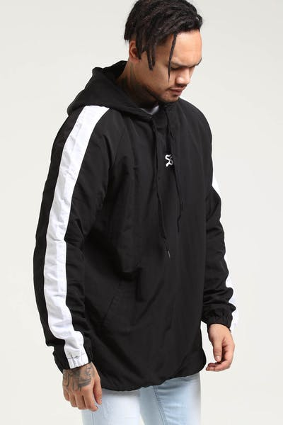 Saint Morta Black Letter Anorak Black