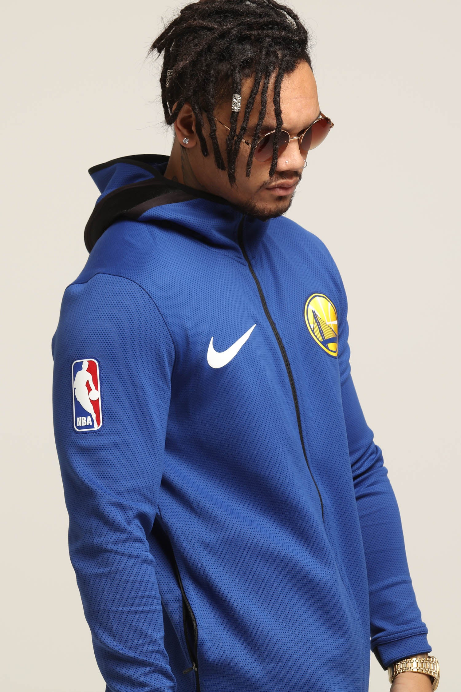 Golden State Warriors Nike Dry Showtime Jacket