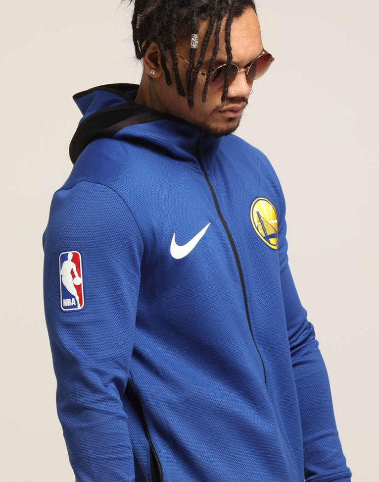 d4e90b715fde31 Golden State Warriors Nike Therma Flex Showtime Hood Blue/Black/White –  Culture Kings