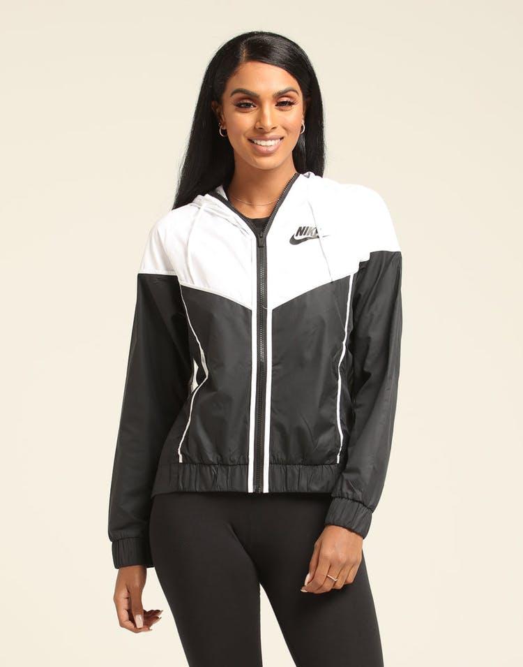 70c01e135 Nike Women's Windrunner Jacket Black/White/Black