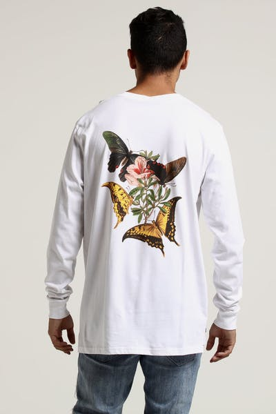 French Montana Jungle Long Sleeve Tee White