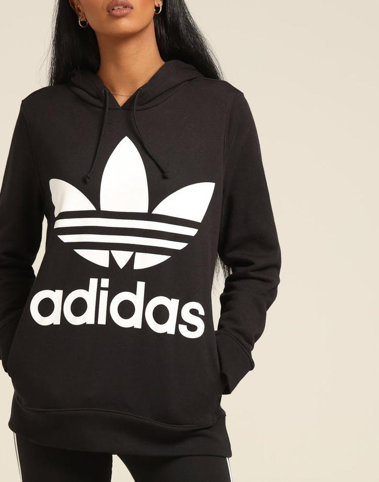 9e214664 Adidas Women's Trefoil Hoodie Black
