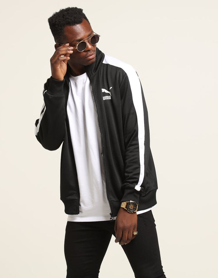 5842c518 Puma Archive T7 Track Jacket Black – Culture Kings