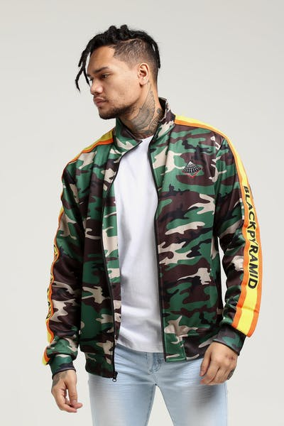 Black Pyramid OHB Sunray Track Jacket Camo