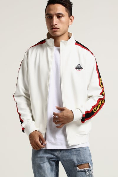 Black Pyramid OHB Sunray Track Jacket White