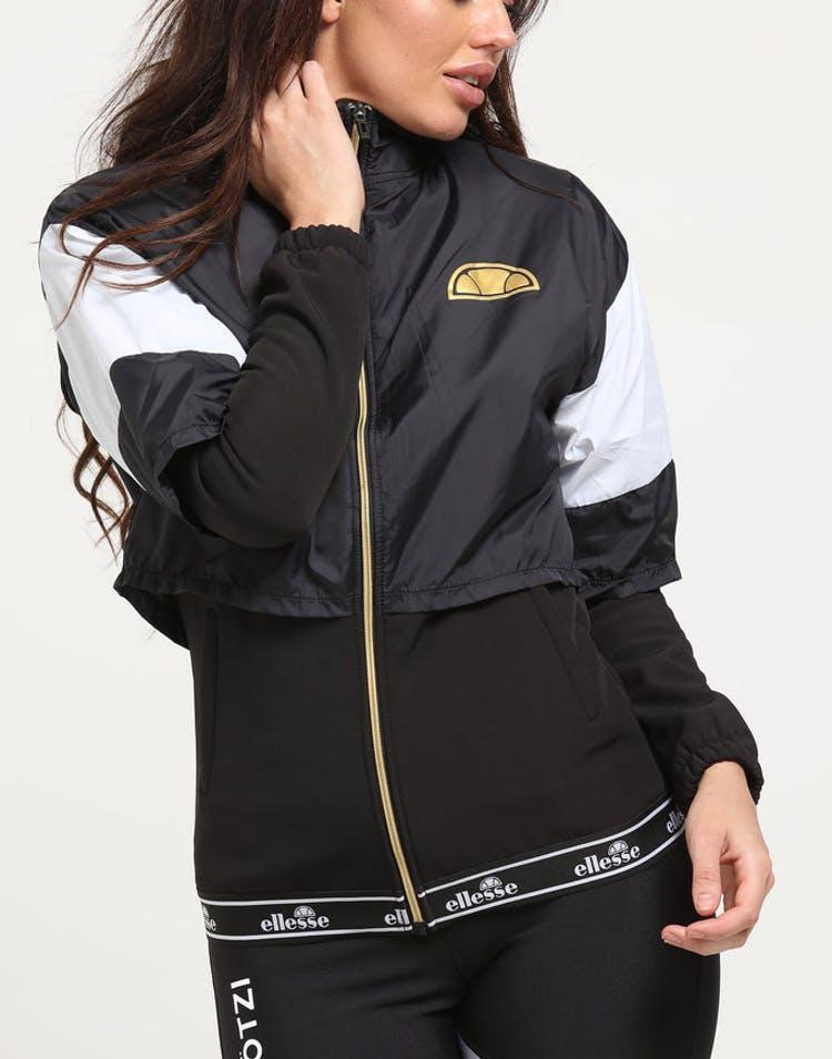 3b59965201 Ellesse Women's Gianduiotto Overlayed Jacket Anthracite